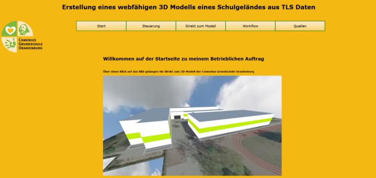 Projekt Schulhof 3D