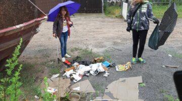 auch auf dem Weg ist uns viel Müll begegnet
